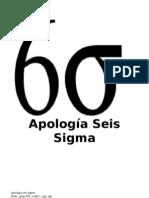 Apología Seis Sigma hoy