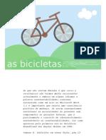 as bicicletas APRESENTAÇÃO
