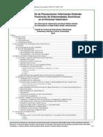 Compendio de Precauciones Veterinarias Estandar 2010