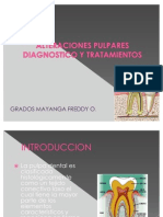 Alteraciones Pulpares Diagnostico y Tratamientos