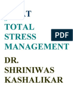 WHAT IS STRESS MANAGEMENT DR SHRINIWAS KASHALIKAR