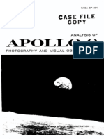 Analysis of Apollo 8 Photography and Visual Operation