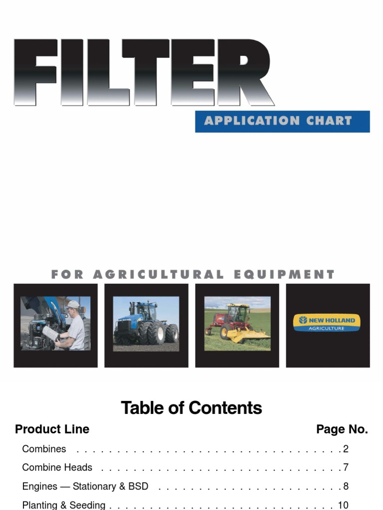 NH Filter Wall Chart 1-10-08 on