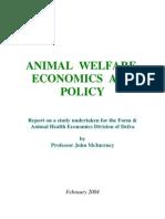 Animal Welfare Economics and Policy[1]