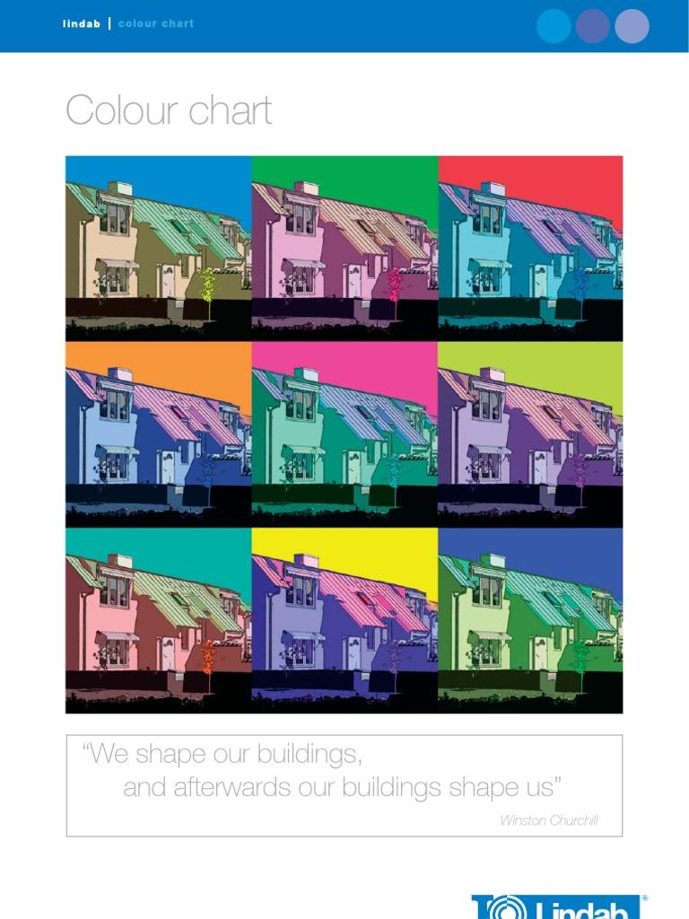 Eng Colour Chart Hue Color