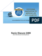 Sonic Diacure 2400 - Sonic Wave Glucose Controlling Device