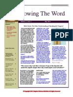 KWM Newsletter 1