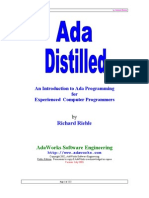 Ada Distilled