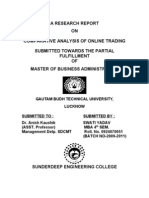Comparative Analysis of Online Trading_research_2011