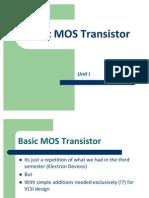 VLSI Design - Unit I