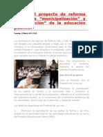 Analisis de La Ley Municipalizacion