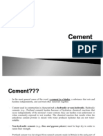 Cement Summary