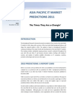 Asia Pacific IT Market Predictions 2011[1]