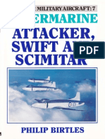 Postwar 7 Super Marine Attacker, Swift and Scimitar