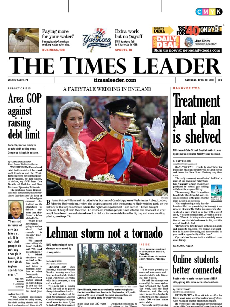 547bc0f6b Times Leader 04-30-2011 | Lawsuit | Wilkes Barre