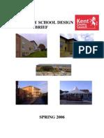 Secondary School Design Brief June 06