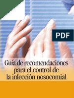 Guía de recomendaciones para el control de la infección nosocomial