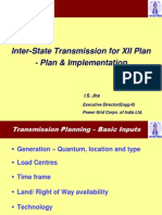 Inter-State Transmission for XII Plan