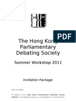 HKPDS SW 2011 Invitation