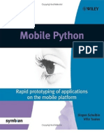 Mobile Python - Rapid Pro to Typing of Applications on the Mobile Platform