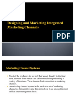 Designing and Marketing Integrated Marketing Channels
