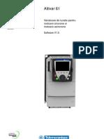 Manual Program Variator TuratieATV61