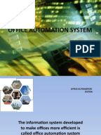 What is office automation and an everyday example?