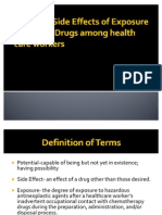 Potential Long-Term Side Effects of Exposure to Chemo