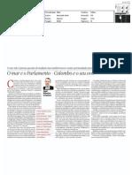 O mar e o Parlamento - Colombo e o seu ovo | artigo PÚBLICO, 30-abr-2011