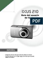 Manual Ixus 210