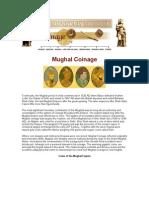 Mughal Coinage