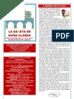 La Gazeta de Mora Claros  nº 113 - 29042011