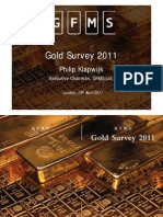 Gold Survey 2011 Presentation London