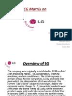 BCG Matrix on LG
