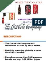 Marketing Mix of Coca Cola