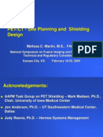 PETCT-Site Planning and Shielding Design