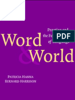 Word and World_Practice and the Foundations of Language