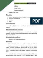 Acta 22 de Marzo de 2011