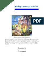 Samkshepa Sundara Kandam (SSK2b)