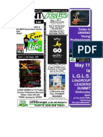 May 1 2011 Newsletter Labor Day Sunday Full Version