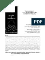 EMPOWERMENT CICLO DE IMPLEMENTAÇÃO DIMENSÕES E TIPOLOGIA