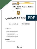 1er Informe Del Lab Oratorio de Fisica General