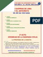 02 Las Guerras de Libia y El Anticristo Acto 2o Prof Biblia