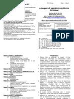 Hirdetések 2011 május 1 - 8