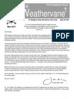 May 2011 Weathervane