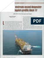 Total Brings Onstream Second Deepwater Hub in Angola's Prolific Block 17