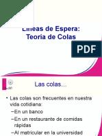 LINEAS DE ESPERA