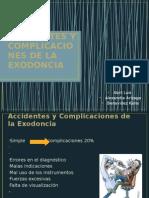 Complicaciones de La Exodoncia
