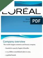 L'Oreal - int. marketing strategy
