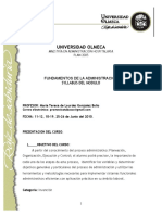 Syllabus Fundamentos de Administracion[1]